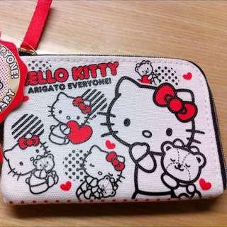 <降!>Hello Kitty 40th紀念 悠遊卡套 零錢包