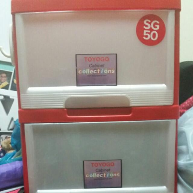 5 Tier Plastic Cabinet (Reserved)