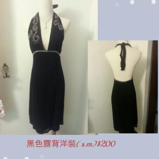 黑白系列洋裝禮服