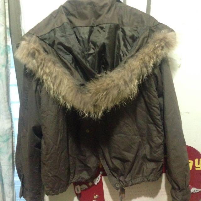 韓國鋪棉保暖外套