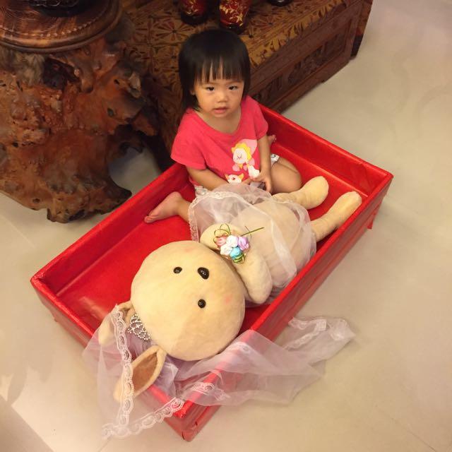 伊莎貝爾 愛情兔娃娃/安床娃娃/婚禮佈置小物