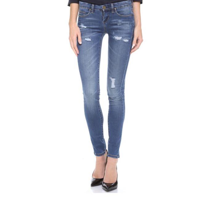 降價囉👏🏼👏🏼👏🏼👏🏼美國品牌Blank Denim skinny刷破牛仔褲