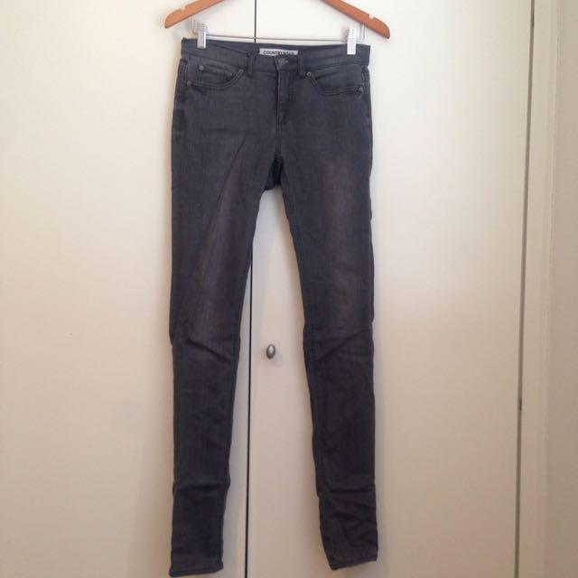 Country Road Grey Skinny Leg Jeans