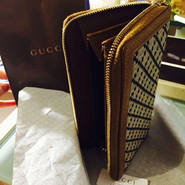 Gucci 正品 絕版的 竹藤款