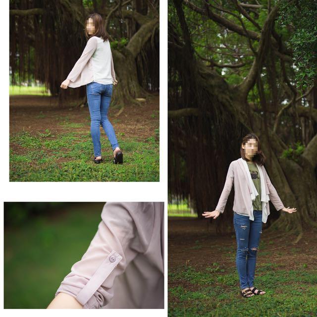 (降!)JoJo超級美的薄紗外套(正品)