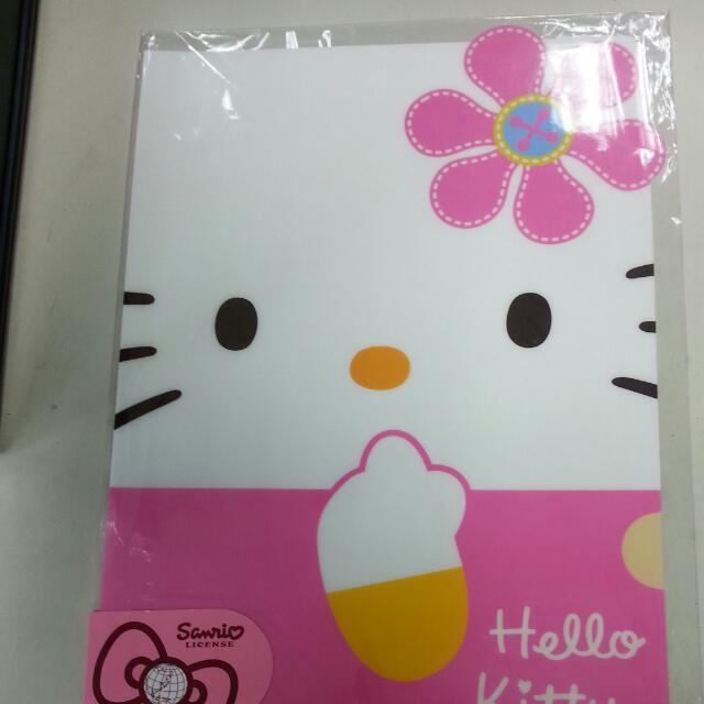 三麗鷗授權kitty L夾 資料夾(雙面不同)