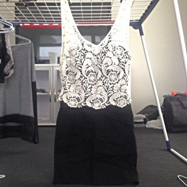 Lacey/black Dress