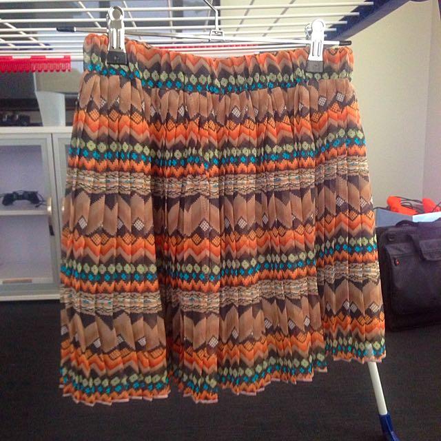Lolitta Flowey Patterned Skirt