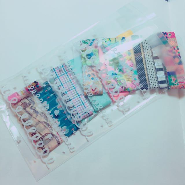 日本製mt等 紙膠帶分裝