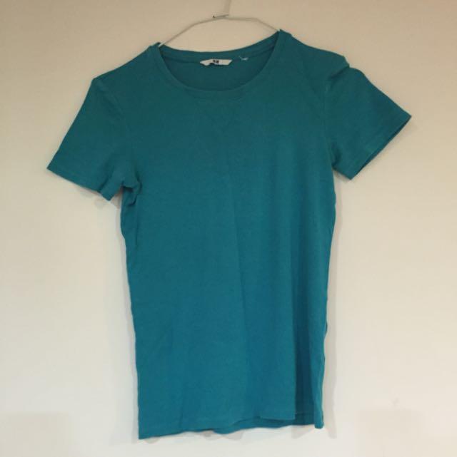 UNIQLO藍綠t