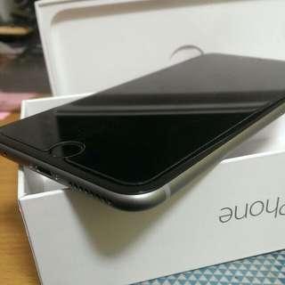Iphone 6 Plus 64G 太空灰 保固 2016/2/22