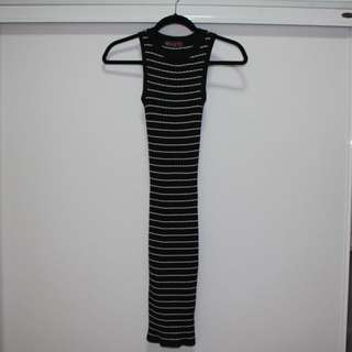 Stretchy bodycon dress, size 6-10 (never worn)