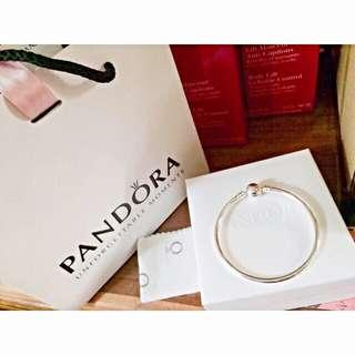 PANDORA手環  17cm硬環