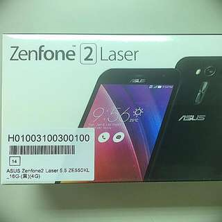 Zenfone 2 Laser (保留中)