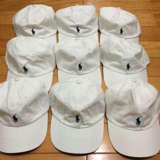 全新 小馬帽 Ralph Lauren polo 高爾夫球 老帽 彎帽