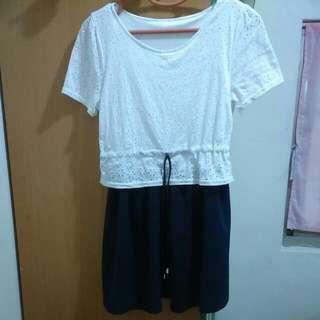 《秋》氣質蕾絲裙