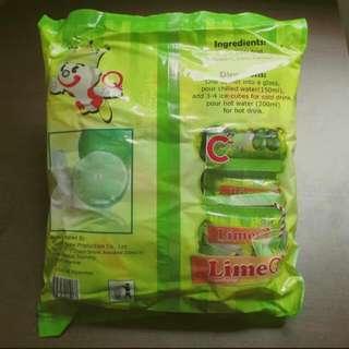缅甸檸檬粉540克 LimeQ 進口檬果汁美白茶飲 30包