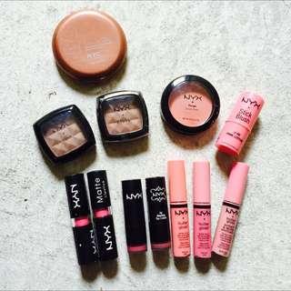 NYC NYX Bronzer / Cream Blush / Lippy