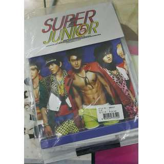 Super Junior Mr Simple Official T-shirt