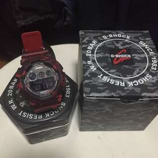 Red Camouflage G-shock