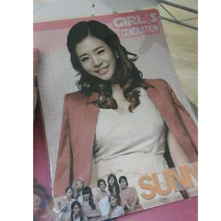 SNSD Sunny Unofficial Clear File
