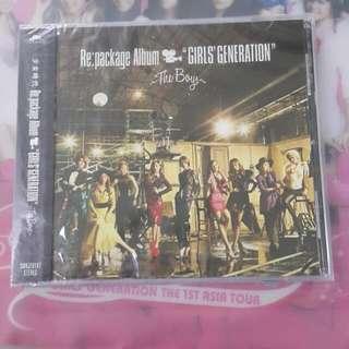 SNSD Japanese Repackage Album Girls Generation The Boys