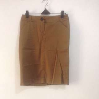 New- Brown Skirt