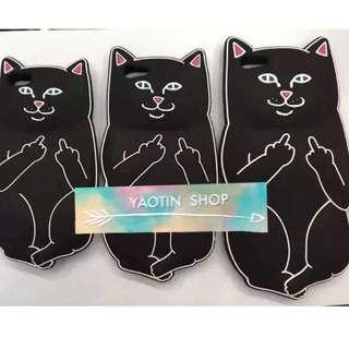 獨家制訂 黑色惡搞口袋貓