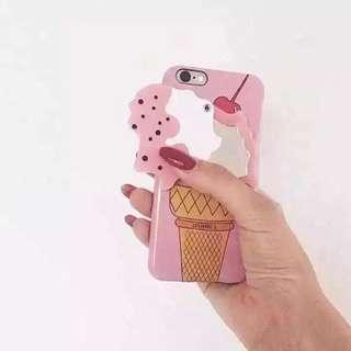 預購🌹韓國IPHORIA冰淇淋鏡子iphone6/6s