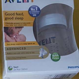 Philips Avent Classic Bottle 260ml Twin Pack