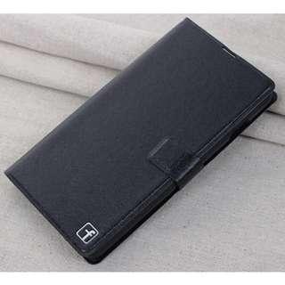 酷派 7275 Coolpad 手機殼 保護套 皮套 側翻 支架 蠶絲紋 黑色