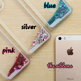 FREE MAIL INSTOCK BN iPhone 6/6plus Stardust Glitter Quick Sand Casing