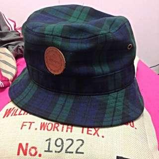 Lafayette格紋漁夫帽M號