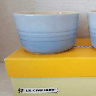 NEW Le Creuset Ramekin Bowl Set Of 2