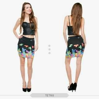 Tetris Bandage Skirt