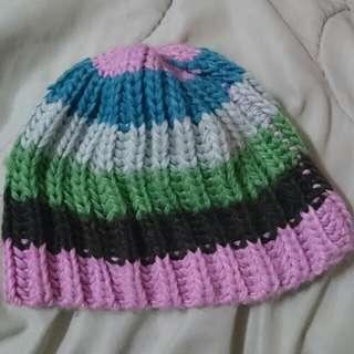 『彩色』毛帽