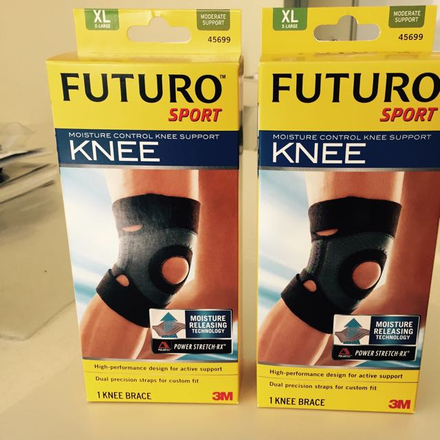 251404dad2 3M Futuro Moisture Control Knee Support, Sports on Carousell