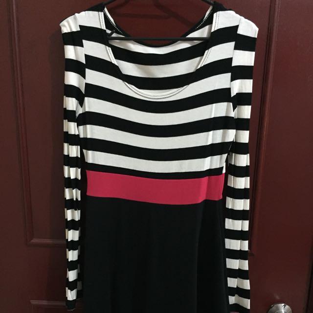 ✨正韓✨條紋連身裙