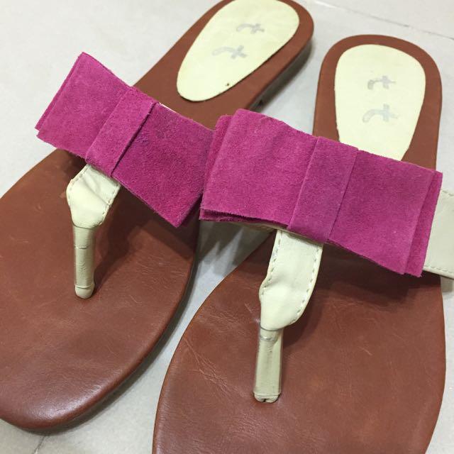 正韓-夾腳拖鞋