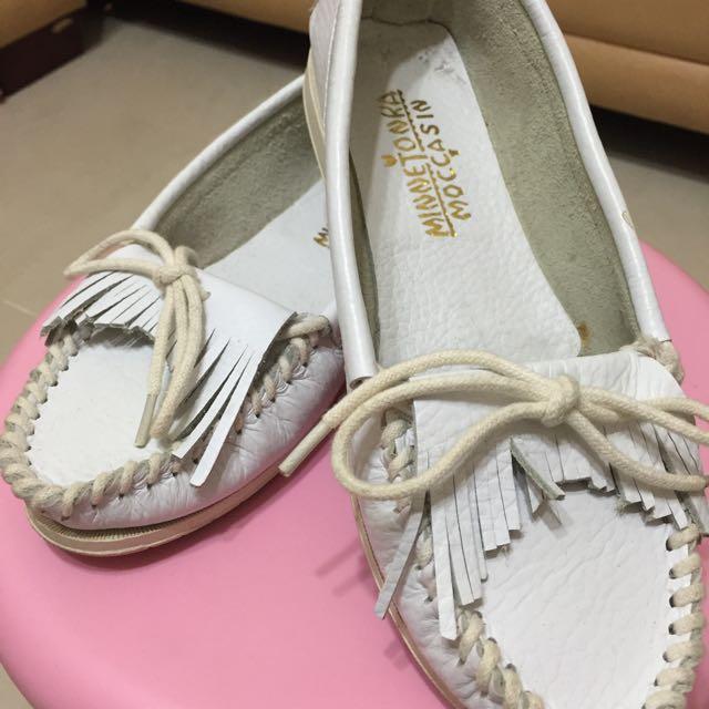 正韓-白色便鞋