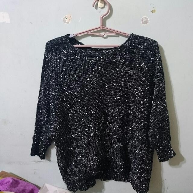 全新『黑色』針織毛衣