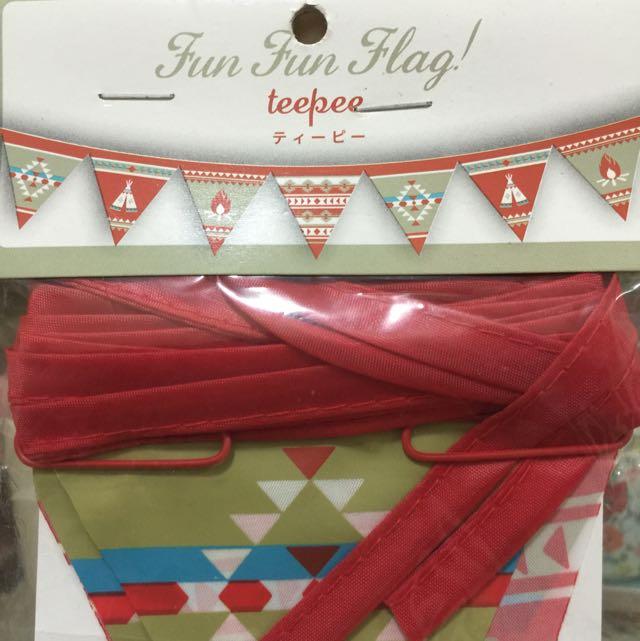印地安圖騰✨三角旗✨露營掛飾