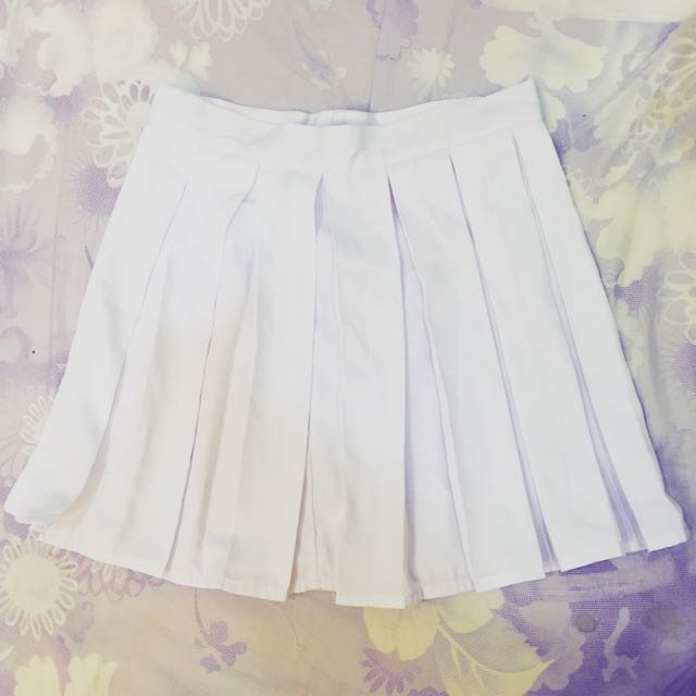 白色 百褶裙(等待付款)