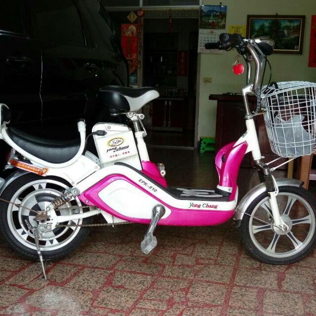 電動腳踏車 (九成新)電池剛換