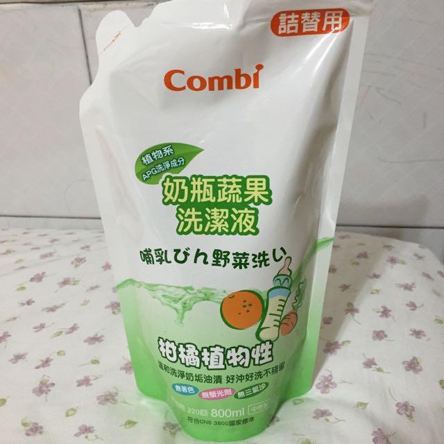 康貝 Combi 蔬果奶瓶洗潔液補充包 800ml