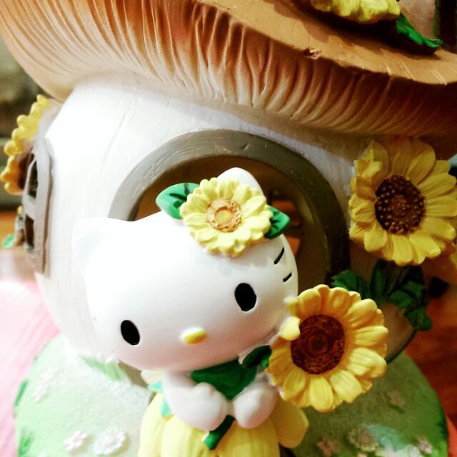 正版 Hello kitty太陽花仙子薰香燈