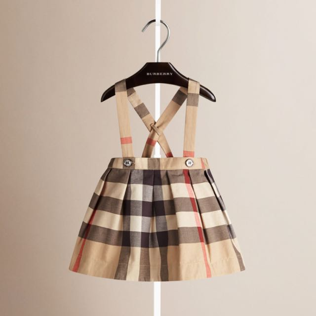 Almost Brand New Burberry Kids Dress Luxury Carousell