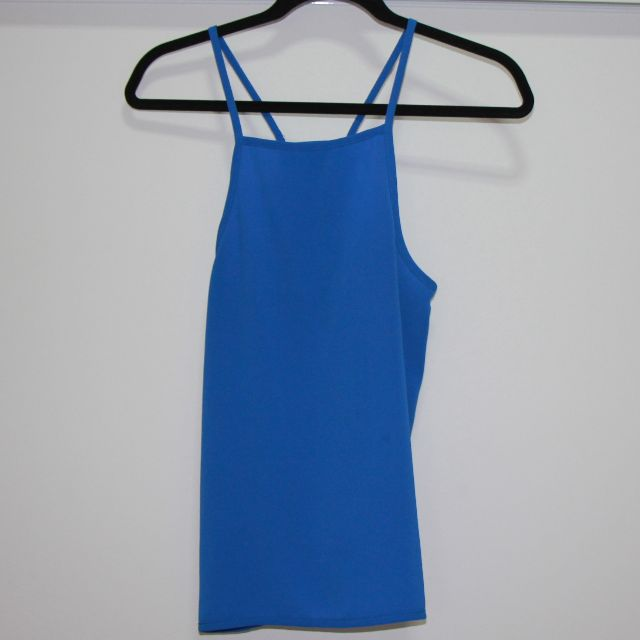 Bright blue top size 6-8