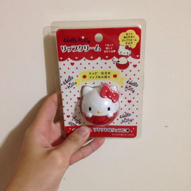 Hello Kitty護唇膏