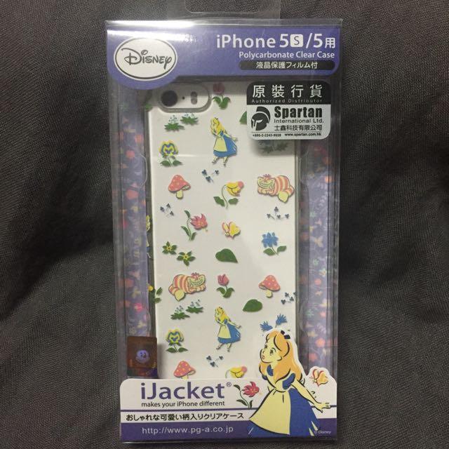 [50元出清]iPhone 5/5s 愛麗絲手機殼